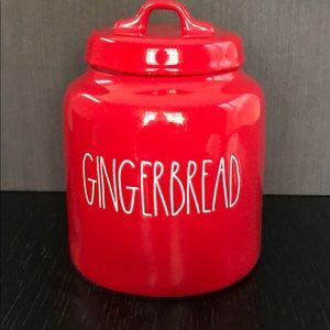 Rae Dunn Gingerbread Canister